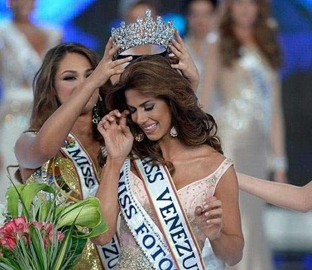 मिस व्हेनेझुएलाचा किताब जिंकलेली मारियाना जिमनेज... - Divya Marathi