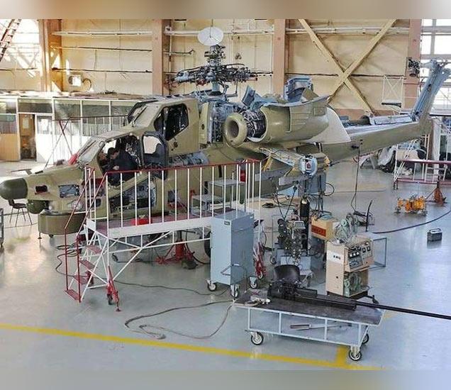 Mi-28N हेलिकॉप्टर - Divya Marathi