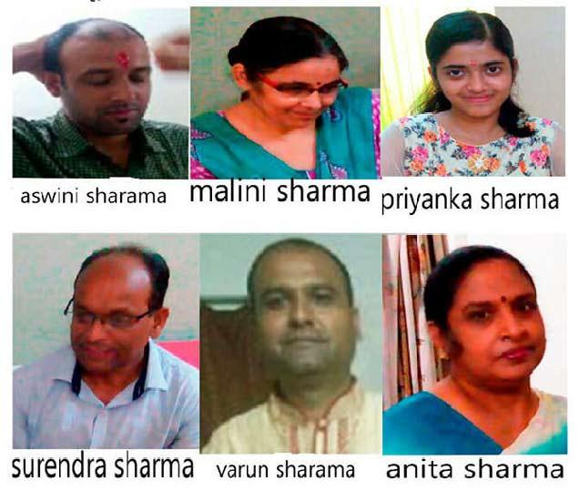 विरार येथील शर्मा कुटूंब 15 ऑक्टोंबरपासून गायब आहे. - Divya Marathi