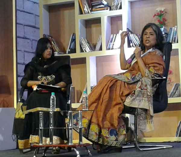 दिव्य मराठी लिटरेचर फेस्टिवलच्या दुस-या दिवशी जिनांच्या खासगी आयुष्यातील अनेक प्रसंग लेखिका शीला रेड्डी यांनी प्रेक्षकांपुढे उलगडून दाखवले. - Divya Marathi