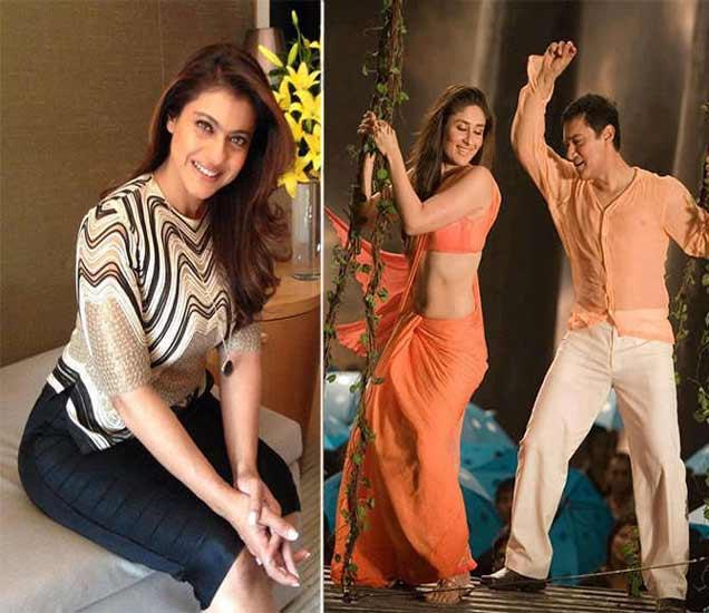 काजोल आणि 3 इडियट्स मध्ये करीना व आमिर खान. - Divya Marathi