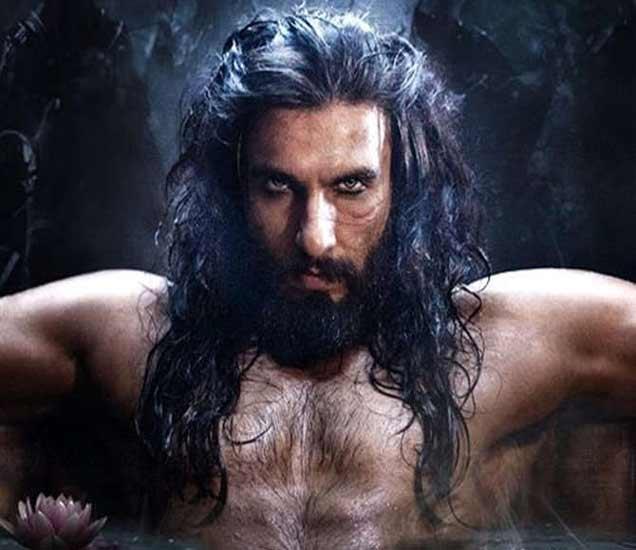 'पद्मावती'मध्ये खिलजीच्या भूमिकेत रणवीर सिंह. - Divya Marathi