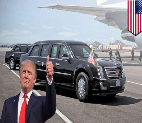 यूएसची हायटेक प्रेसिडेंट कार कॅडिलेक 'द बीस्ट' - Divya Marathi
