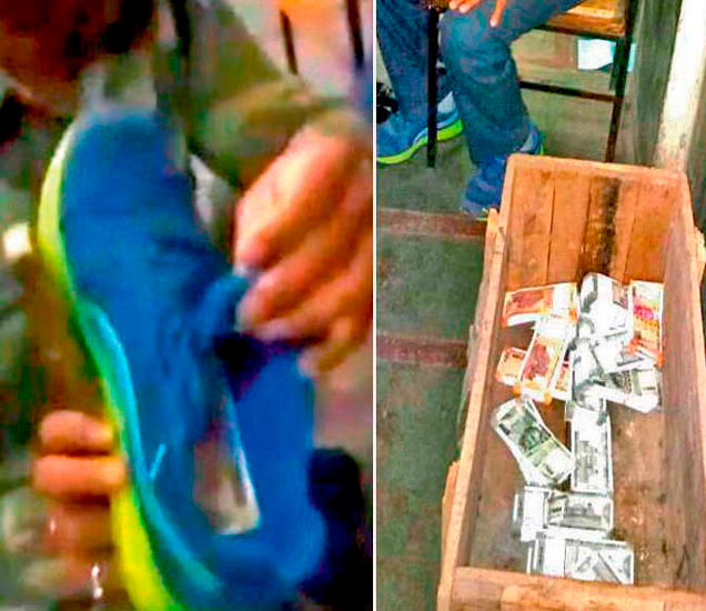 उपनियंत्रक मनोहर वर्माला सीआयएसएफने शुक्रवारी 200-200 च्या नव्या नोटांची दोन बंडलं चोरून घेऊन जाताना रंगेहाथ पकडले. त्याच्या डस्टबिन आणि लॉकरमधून 26 लाख 9 हजार 300 रुपये जप्त करण्यात आले. - Divya Marathi