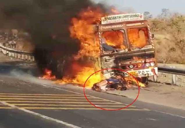 या अपघातात मृत्यू झालेल्या व्यक्तींची अद्याप ओळख पटू शकलेली नाही. - Divya Marathi