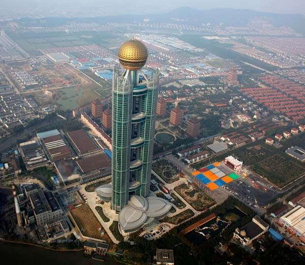 चीनमधील वाक्शी गावाला जगातील सर्वात श्रीमंत गाव म्हटले जाते. - Divya Marathi