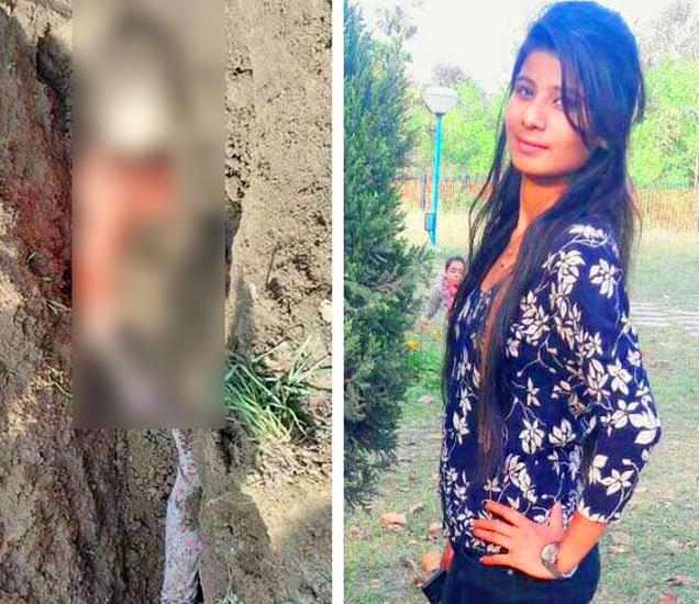 प्रियकराशी लग्न करणाऱ्या प्रियांचा मृतदेह सकाळी एका शेतात या अवस्थेत आढळला. - Divya Marathi