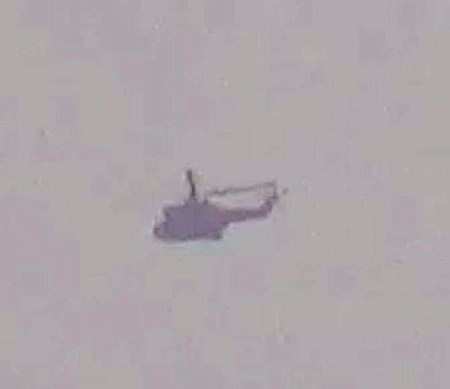 पाकिस्तानचे हेलिकॉप्टर LoC पार करुन 300 मीटर आत आले होते. - Divya Marathi