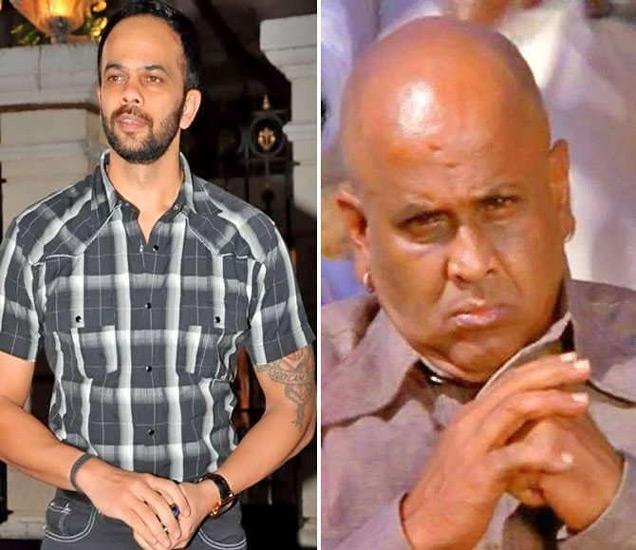 रोहित शेट्टी आणि त्यांचे वडील एमबी शेट्टी - Divya Marathi