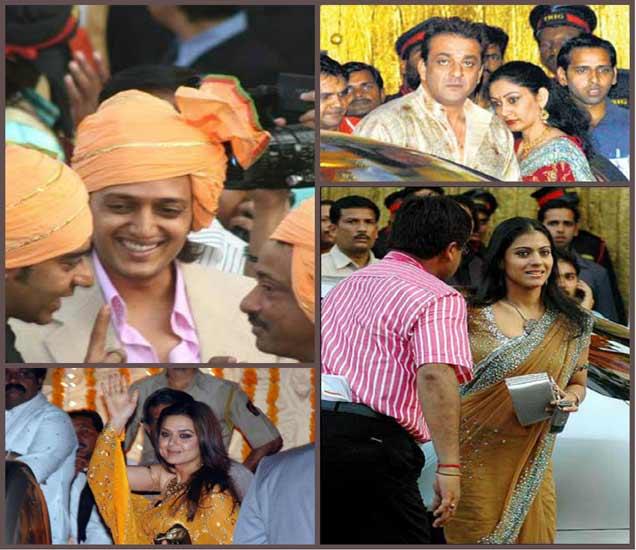 अभिषेक-ऐश्वर्याच्या लग्नात सहभागी झालेले सेलिब्रिटी... - Divya Marathi