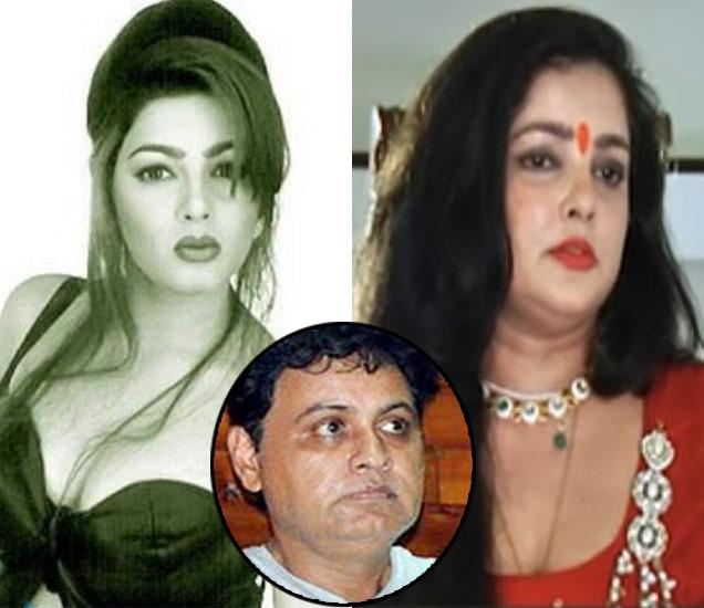 ममता कुलकर्णीचे पुर्वीचे आणि लेटेस्ट रुप, इनसेटमध्ये ममताचा तथाकथित पती विकी गोस्वामी - Divya Marathi