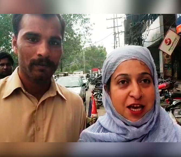 किरन बाली हिने पाकिस्तानी पतीसोबतचा व्हिडिओ शेअर केला आहे. भारतात परत येणार नसल्याचे ती म्हणाली. - Divya Marathi