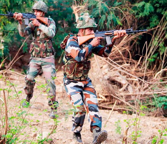 त्रालच्या जंगलात दहशतवादी लपून बसले असल्याची माहिती मिळाली होती. (फाइल) - Divya Marathi