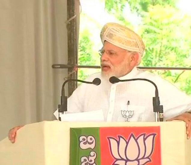 मोदींनी 1 मे पासून कर्नाटकमध्ये भाजपच्या प्रचाराला सुरुवात केली. - Divya Marathi