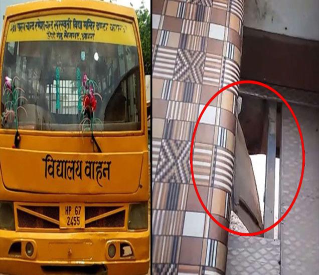 बसच्या चाकाखाली चिरडून विद्यार्थी ठार झाला. - Divya Marathi
