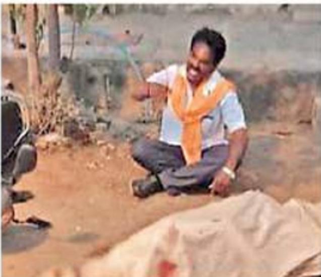 केडगाव उपनगरात झालेल्या हत्याकांडाचे संग्रहित छायाचित्र. - Divya Marathi