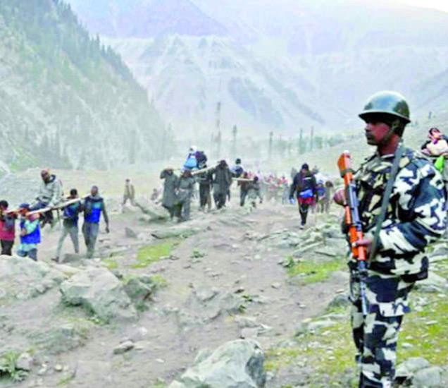 फुटीरतावाद्यांनी आज जम्मू-काश्मीर बंदची घोषणा केली आहे.-फाइल - Divya Marathi