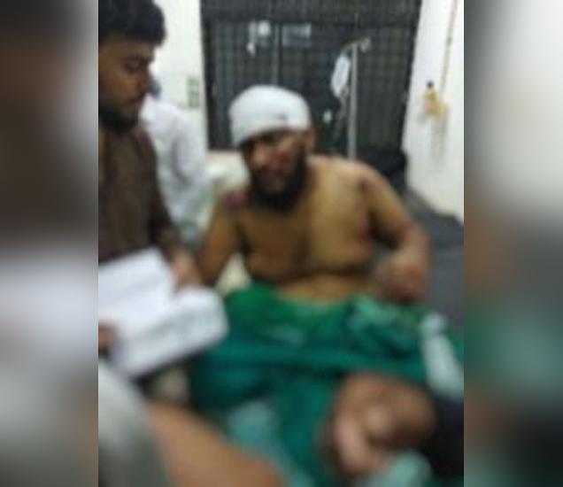 गंभीर जखमी झालेला युवक... - Divya Marathi