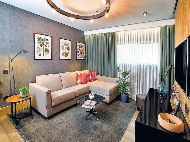 शाकाहारींसाठी तयार वॅगन हॉटेल सूट; तक्क्यापासून फर्निचरपर्यंत भुस्सा आणि अननसाची पाने दळून भरली|विदेश,International - Divya Marathi