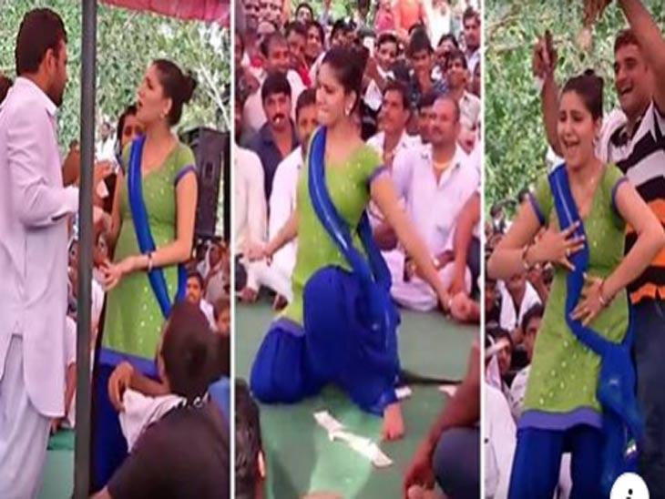 Sapna Choudhary : जेव्हा पब्लिकने केली बॉलिवूडच्या एका अश्लील गाण्यावर डान्सची डिमांड तेव्हा चिडली सपना चौधरी, ऑर्गनायजर्ससोबत वादही झाला, पण इच्छा नसतानाही नाचावे लागले : VIDEO  - Divya Marathi