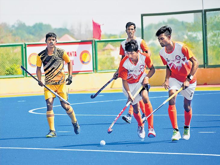 9 वी राष्ट्रीय ज्युनियर हॉकी चॅम्पियनशिप : दोन पराभवांनी महाराष्ट्र संकटात; आगेकुचीसाठी दोन विजय गरजेचे!|स्पोर्ट्स,Sports - Divya Marathi