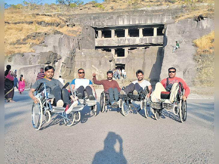 तरी मोडला नाही कणा... जगण्याचा अनोखा बाणा औरंगाबाद,Aurangabad - Divya Marathi