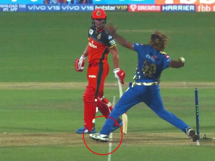 मलिंगाचा शेवटचा बॉल \'नो-बॉल\' होता पण अंपायरने बघितले नाही : या निर्णयाबाबत कोहलीने दर्शविली नाराजी स्पोर्ट्स,Sports - Divya Marathi