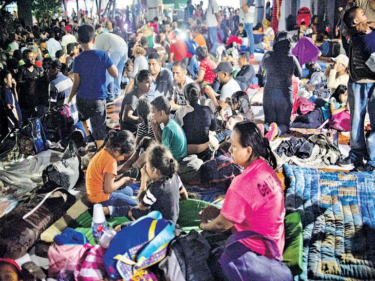 बेकायदा स्थलांतरितांची विरोधी खासदारांच्या गावी रवानगी करू; ट्रम्प यांनी ट्विट करून मांडले मत, सँक्चुरी शहरात रवानगी करणेच योग्य|विदेश,International - Divya Marathi
