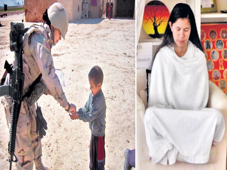 इराकमधील हिंसाचार पाहून अमेरिकी लष्करातील नर्स टॅमी बनल्या जैन साध्वी, आता तस्करी रोखण्याचे कार्य|विदेश,International - Divya Marathi
