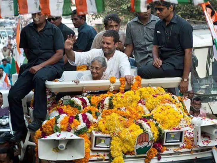 दिल्लीतून लोकसभा लढवणार माजी मुख्यमंत्री शीला दीक्षित, काँग्रेसकडून 6 उमेदवारांची यादी जाहीर|देश,National - Divya Marathi