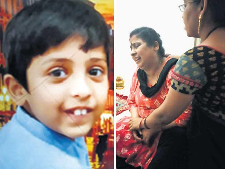 रात्री 8.20 वाजता ते नंबर नसलेल्या कारमधून आले आणि व्यावसायिकाच्या 6 वर्षीय मुलाला घेऊन गेले, फक्त 2 मिनीटात झाले अपहरण...|देश,National - Divya Marathi