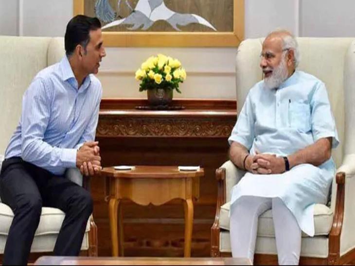 इंटरव्यू : पंतप्रधान मोदी यांनी घेतली अक्षय कुमारची फिरकी, म्हणाले - \'तुमची पत्नी ट्विंकल ट्विटरवर माझ्याविरुद्ध राग व्यक्त करते\'|देश,National - Divya Marathi