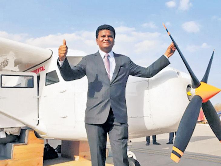 कॅप्टन यादव यांच्या स्वदेशी विमानाचे पंख छाटले; अमेरिका गाठण्याचा निर्णय|मुंबई,Mumbai - Divya Marathi
