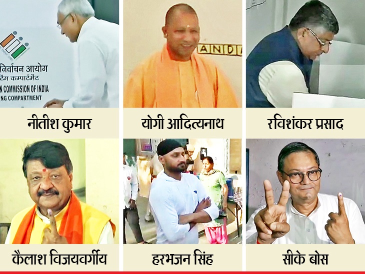 Election Breaking/ सातव्या टप्प्यात 60 % मतदान,  नरेंद्र मोदींसह 918 उमेदवार रिंगणात|देश,National - Divya Marathi