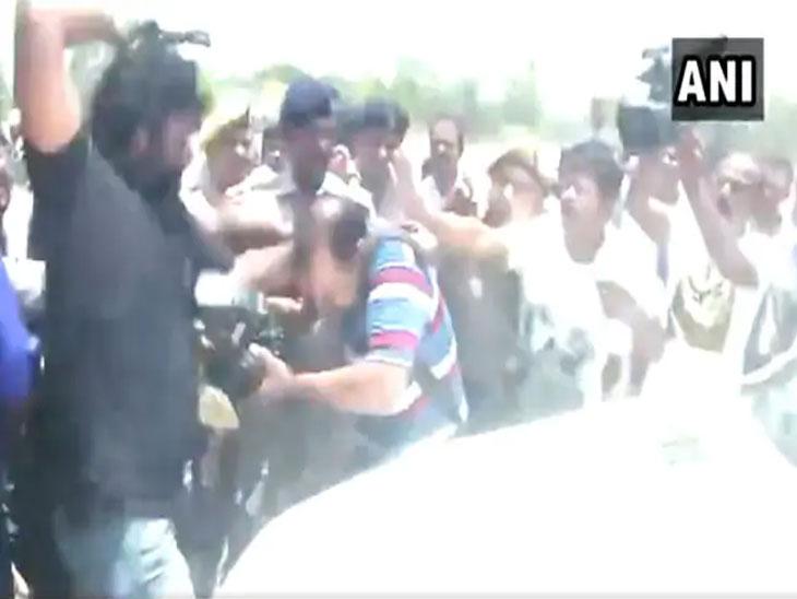 तेजप्रताप यादवांच्या सुरक्षारक्षकांनी पत्रकाराला केली मारहाण; तेजप्रताप यादव म्हणाले - मला जीवे मारण्याचा केला प्रयत्न|देश,National - Divya Marathi