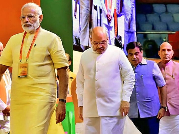 आता तयारी निकालांची: अमित शहांची मंगळवारी एनडीएच्या नेत्यांसोबत डिनर डिप्लोमसी, केंद्रीय कॅबिनेटची बैठकही बोलावली|देश,National - Divya Marathi