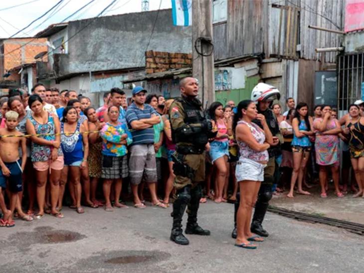 ब्राझीलच्या बारमध्ये मध्यरात्रीनंतर बेछूट गोळीबार, 6 महिलांसह 11 जणांचा मृत्यू; हल्लेखोरांपैकी एकास अटक, 7 जण फरार|विदेश,International - Divya Marathi