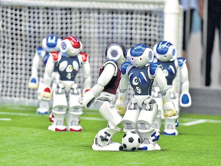 अनोखी आशिया पॅसिफिक राेबाेकप स्पर्धा सुरू; इटली, रशिया, अमेरिकेसह जगातील १०३ संघांचा सहभाग|स्पोर्ट्स,Sports - Divya Marathi