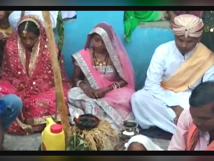 पत्नीनेचे लावून दिले पतीचे प्रेयसीसोबत लग्न, स्वतःही परत घेतले सात फेरे|देश,National - Divya Marathi