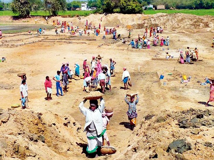 रोहयो अडथळ्यांच्या शर्यतीत|ओपिनिअन,Opinion - Divya Marathi