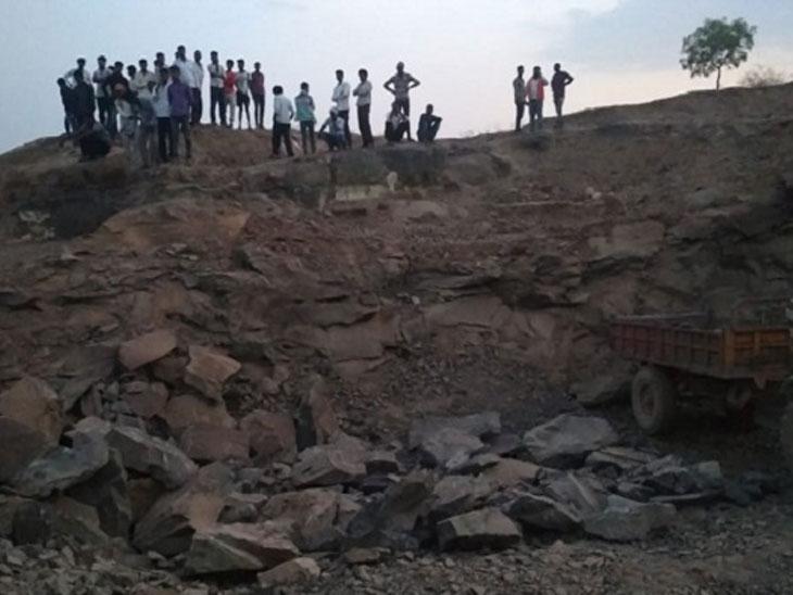 जालन्यातील दगडाच्या खाणीत जिलेटीन स्फोट, दोन चिमुकल्या भावांचा जागीच मृत्यू|औरंगाबाद,Aurangabad - Divya Marathi