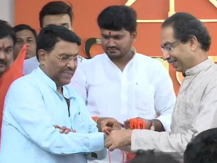 राष्ट्रवादीला खिंडार; जयदत्त क्षीरसागरांनी हाती बांधले शिवबंधन, उद्धव ठाकरेंच्या उपस्थितीत केला शिवसेनेत प्रवेश|औरंगाबाद,Aurangabad - Divya Marathi