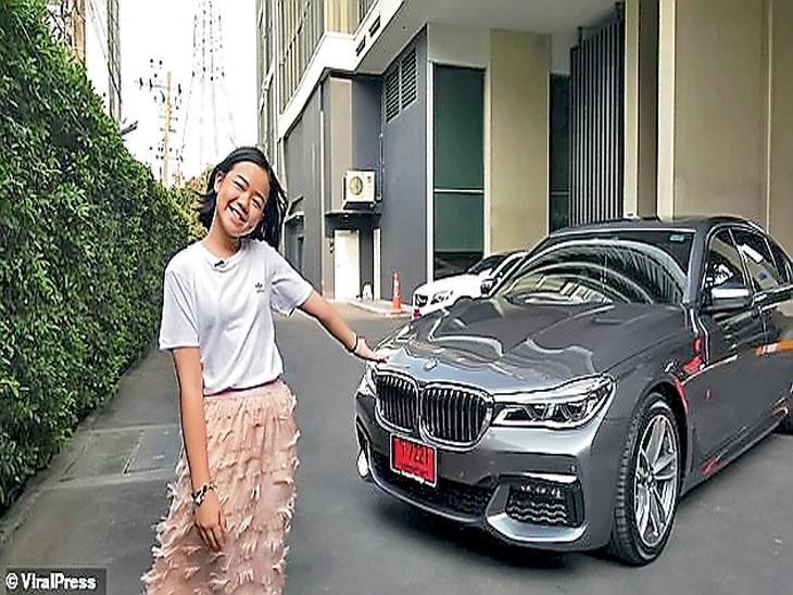 १२ वर्षीय ब्यूटी ब्लॉगरने खरेदी केली लक्झरी कार; वयाच्या चौथ्या वर्षापासून करते मेकअप, सोशल मीडियावर १० लाखांपेक्षा जास्त फाॅलाेअर्स| - Divya Marathi