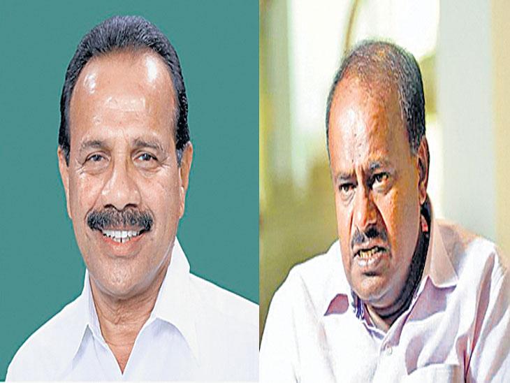लोकसभा निकालानंतर कर्नाटकातील काँग्रेस-जेडीएसचे सरकार कोसळणार ; सदानंद गौडा यांचा दावा|देश,National - Divya Marathi