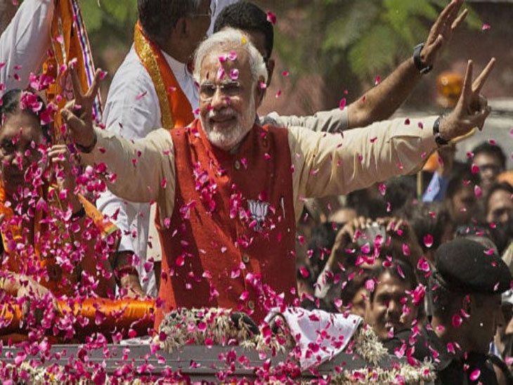 Loksabha 2019 ; वाराणसीत मोदींचा पुन्हा एकदा मोठा विजय, 3 लाख 85 हजार मतांनी मारली बाजी|देश,National - Divya Marathi