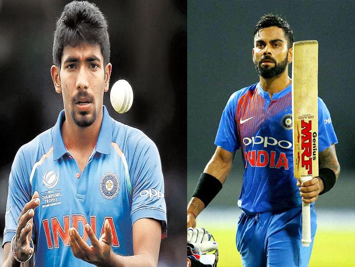 आयसीसी क्रमवारीमध्ये विराट कोहली आणि जसप्रीत बुमराह नंबर वन क्रिकेट,Cricket - Divya Marathi