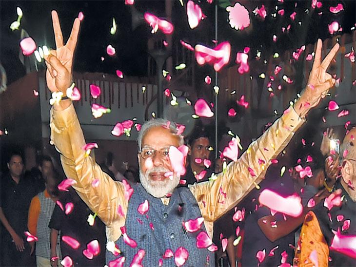 मित्रों! मोदी है तो मुमकिन है, काँग्रेसला विरोधी पक्षनेतेपद मिळणे कठीणच; भाजप 300 पार|देश,National - Divya Marathi