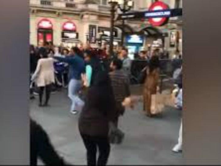 भाजपा आणि मोदींच्या यशाबद्दल लंडनमध्ये लोकांनी केला गरबा, आनंद महिंद्रांनी शेअर केला व्हिडिओ|विदेश,International - Divya Marathi