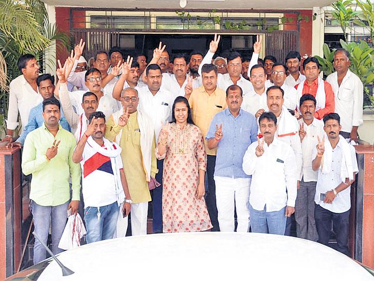 विरोधकांच्या एकजुटीच्या वज्रमुठीला छेद देत संजय जाधवांनी राखला बालेकिल्ला!|औरंगाबाद,Aurangabad - Divya Marathi