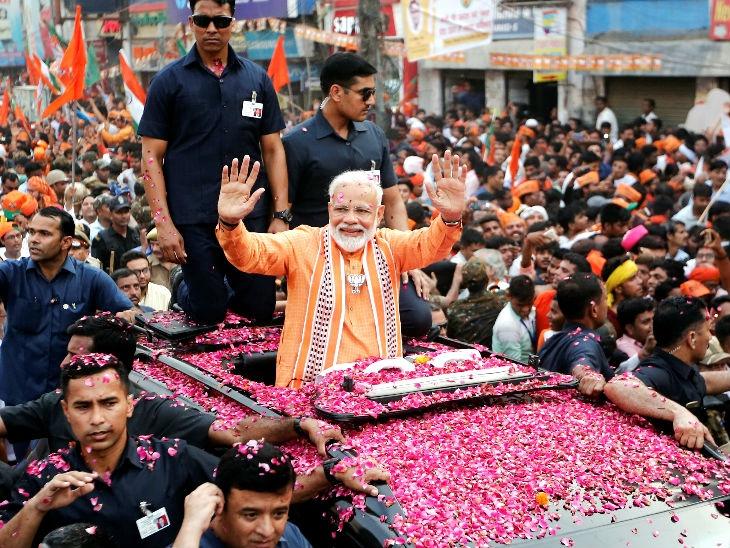नरेंद्र मोदी 30 मे रोजी संध्याकाळी 7 वाजता राष्ट्रीय भवनात पंतप्रधान पदाची शपथ घेणार देश,National - Divya Marathi